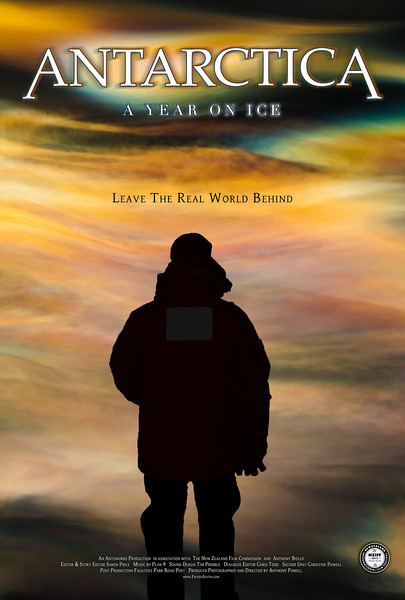 "4 Seasons Movie Poster ""Spring""<br /> Antarctica: A Year On Ice feature film."
