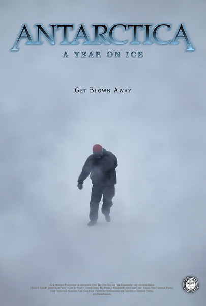 "4 Seasons Movie Poster ""Autumn""<br /> Antarctica: A Year On Ice feature film."