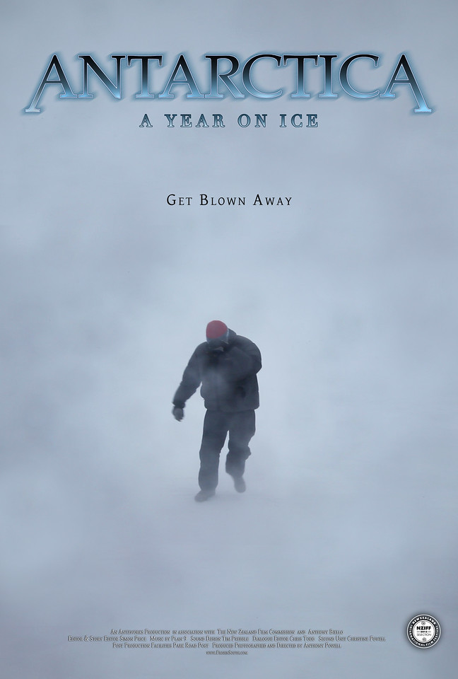 "Movie Poster ""Autumn"" Antarctica: A Year On Ice feature film."