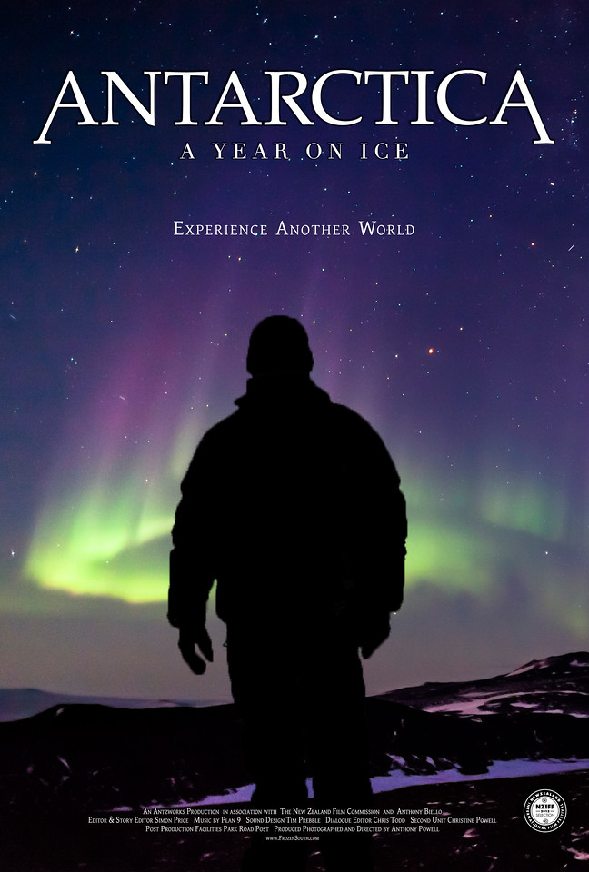 "Movie Poster ""Winter"" Antarctica: A Year On Ice feature film."