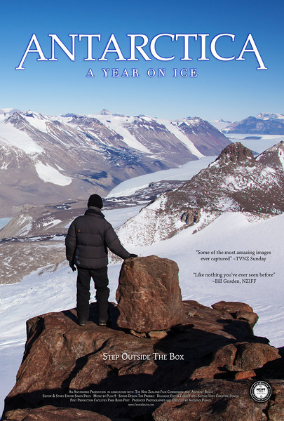 "4 Seasons Movie Poster ""Summer""<br /> Antarctica: A Year On Ice feature film."