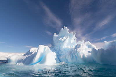 Iceberg in the Antarctica