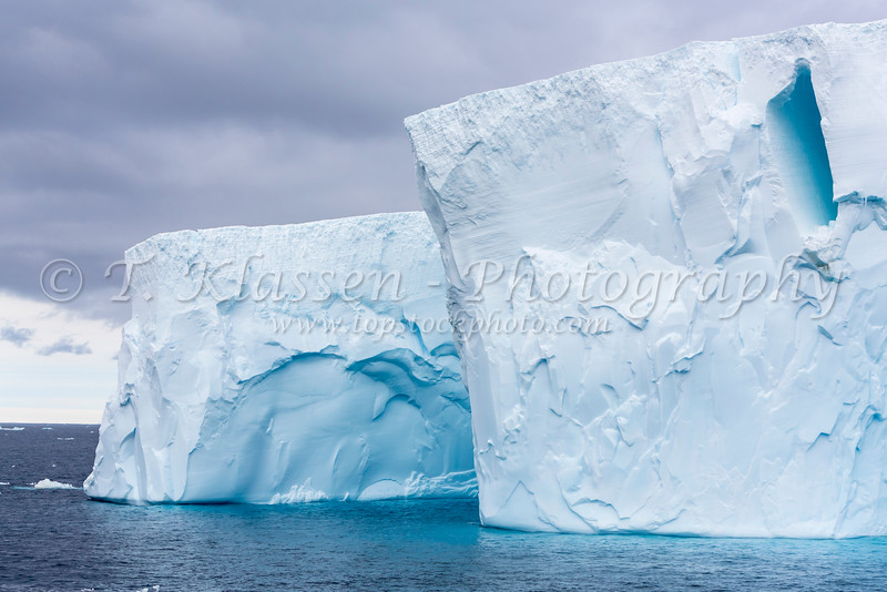 Antarctica ice bergs in the Antarctic Peninsula.