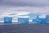 Icebergs in Antarctic Sound in the Anrtarctic Peninsula, Antarctica.