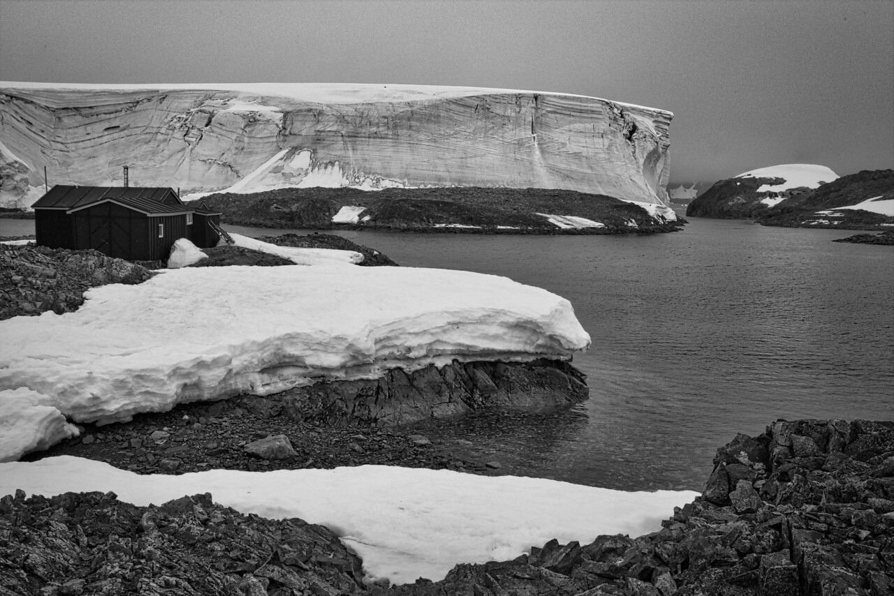 British Wordie House, Winter Island,  65˚15'S, 64˚16'W, Site first established in 1935, closed in 1954 Located in the Argentine Islands.
