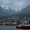 Sailing away from Ushuaia