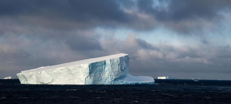 Tabular Iceberg, Antarctic Strait