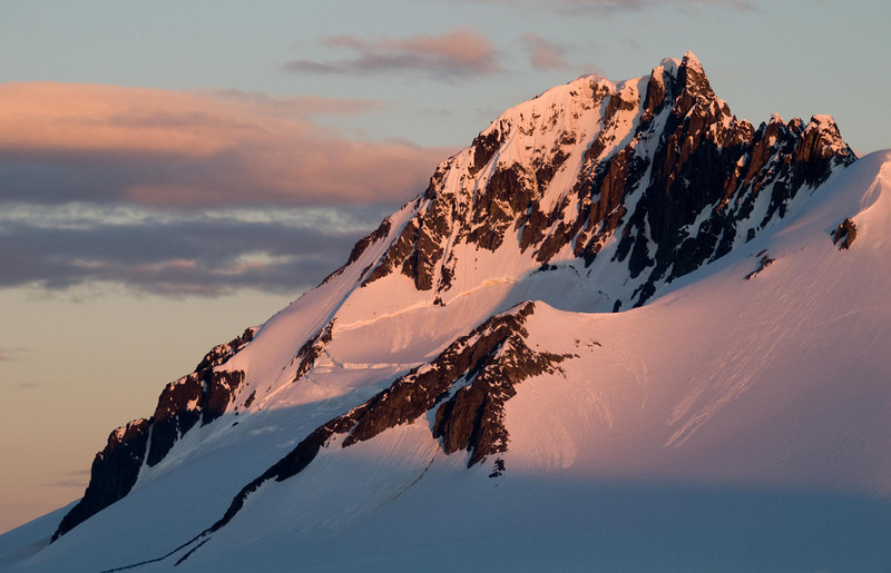 Port Lockroy Alpenglow