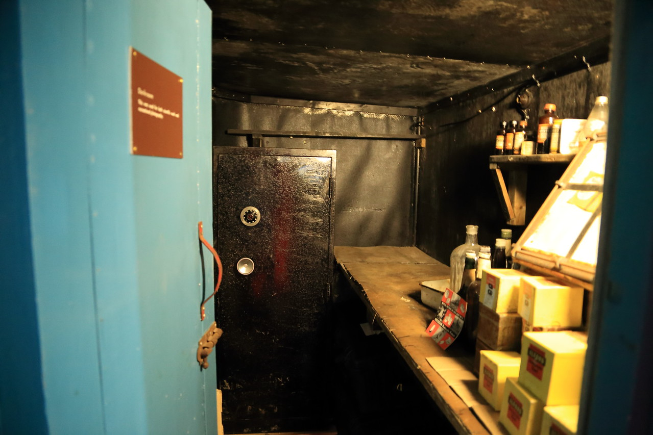 inside the main buildings. British Base A, Port Lockroy on Goudier Island.