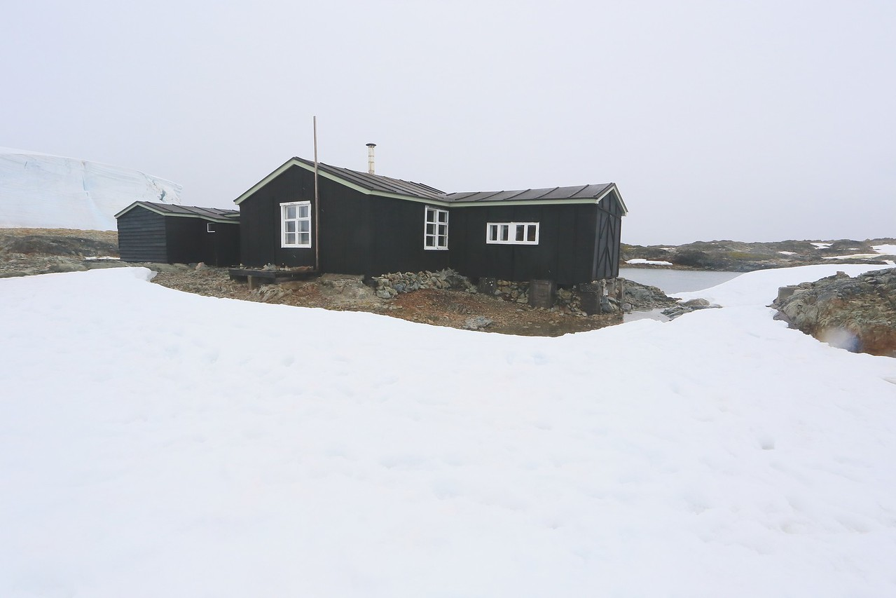 British Wordie House,Winter Island. 65˚15'S, 64˚16'W Located in the Argentine Islands.  Est 1935-Closed in 1954.rgentine Islands.  Est 1935-Closed in 1954. http://www.ats.aq/siteguidelines/documents/wordie_house_e.pdf