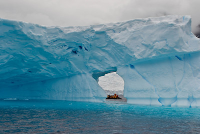 Cruising the iceberg graveyard