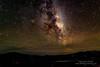 Milky Way over Black Island