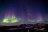 Aurora Australis over Black Island