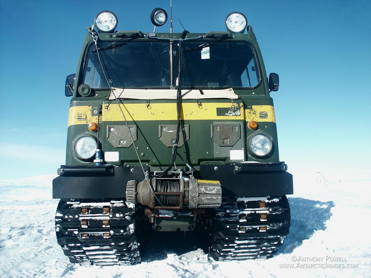 Hagglunds vehicle