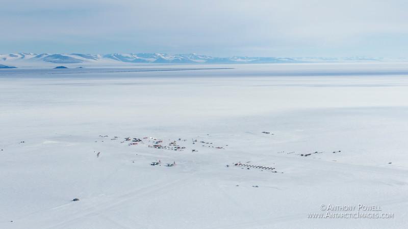 Pegasus Airfield on the Ross Ice Shelf.