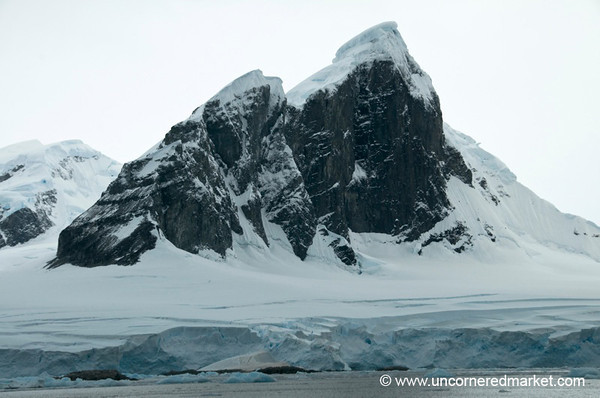 Mountain Vistas in Antarctica