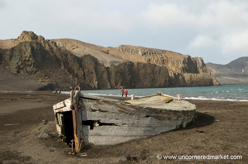 Old Water Boat - Deception Island, Antarctica