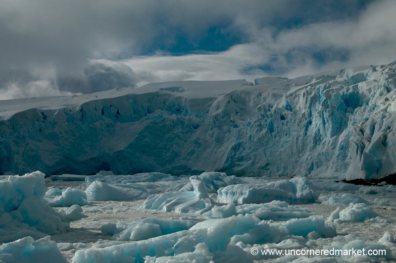 Blue Ice, Blue Skies - Antarctica