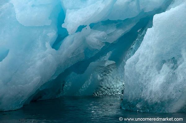 Inside an Iceberg - Antarctica