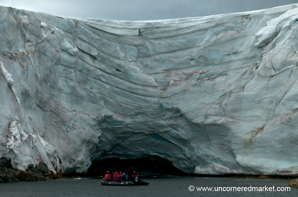 Textures, Colors and Layers of Ice - Antarctica