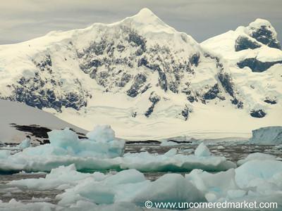 Mountains and Icebergs - Antarctica