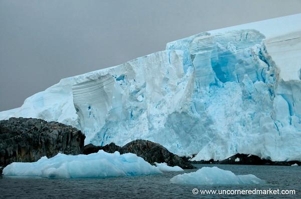 Glaciers and Icebergs - Antarctica