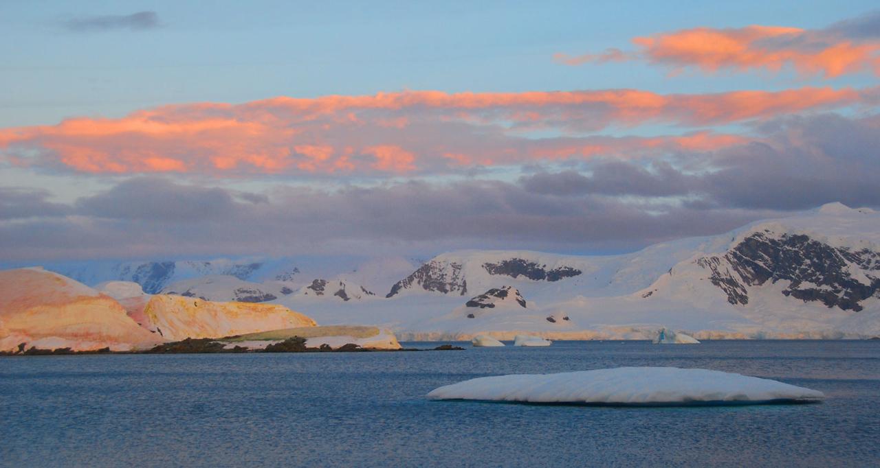Sunset, Enterprise Island