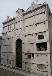 If no one pays the maintenance fees, the burial chambers fall into disrepair.
