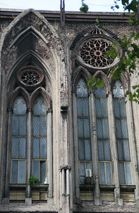 Close up of the windows.