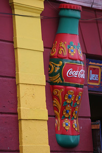 No matter where in the world you go, Coca Cola is there.