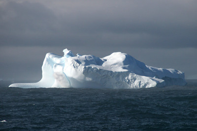 An iceberg in the South Orkneys.