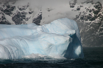 A closer look at the iceberg.
