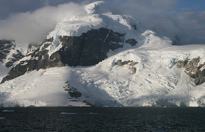 Glaciers add a crispness to the scenery.