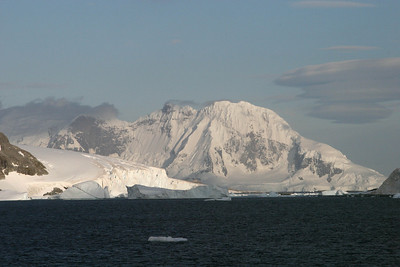 Icebergs are starting to appear en masse as we continue cruising south.