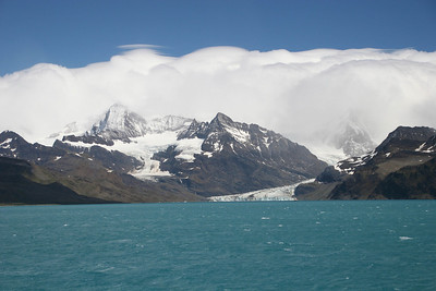 After our aborted landing at Royal Bay, we backtrack to Cumberland East Bay for a ship's cruise to Nordenskjöld Glacier.