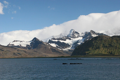 We're still in Cumberland East Bay.  Grytviken is just around the corner from this headland.