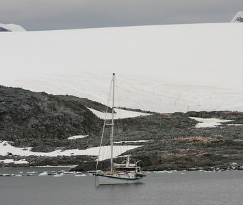 I wouldn't want to sail Antarctic waters on a sailboat!