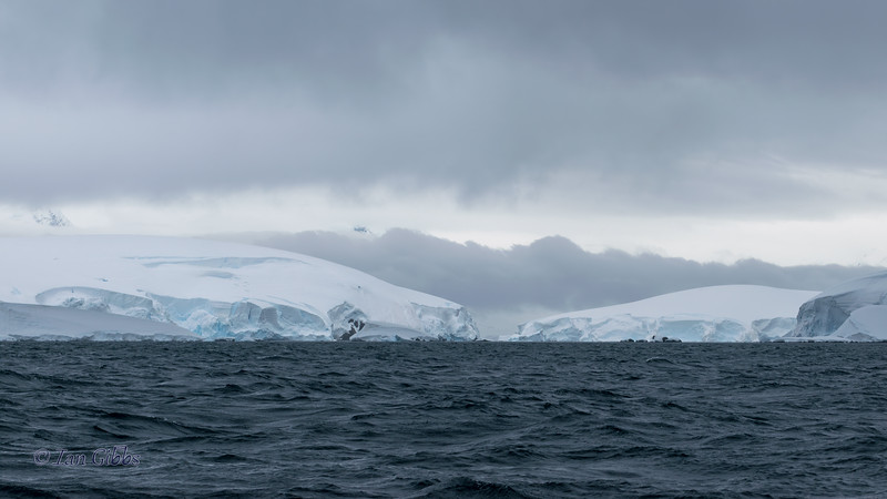 Between the Land Masses in the Gerlache Strait