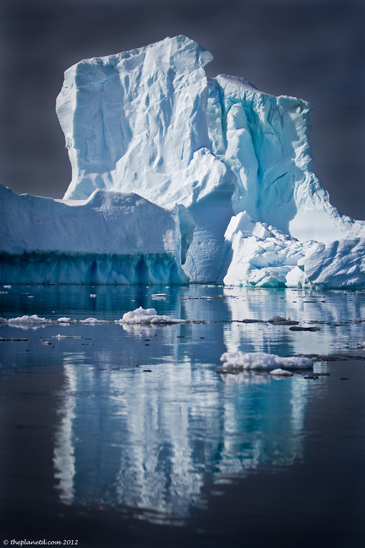 Reflections-antarctic-ice