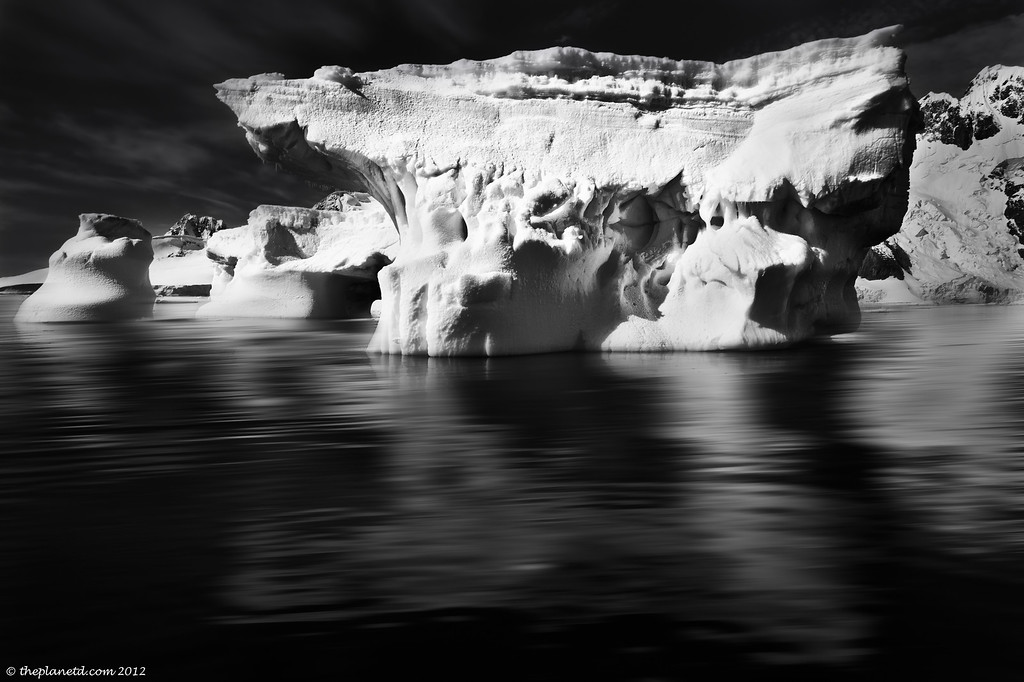 Black and White in Antarctica