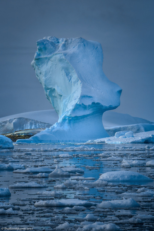 Antarctica-ice-towers
