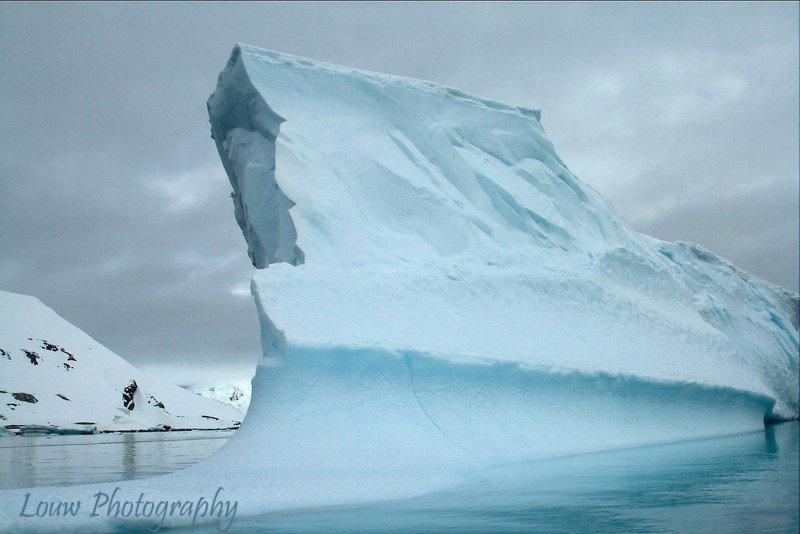 Iceberg at Cuverville Island, Antarctica