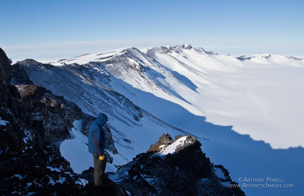 Minna Bluff, Antarctica