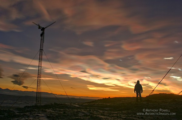 Polar Stratospheric Clouds or Nacreous Clouds