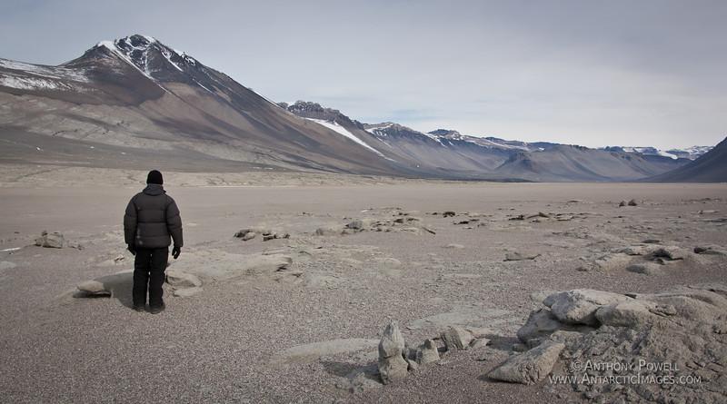 Bull Pass, near Lake Vanda in the Dry Valleys, Antarctica.