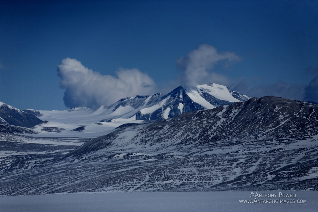Part of the Trans-Antarctic mountains.