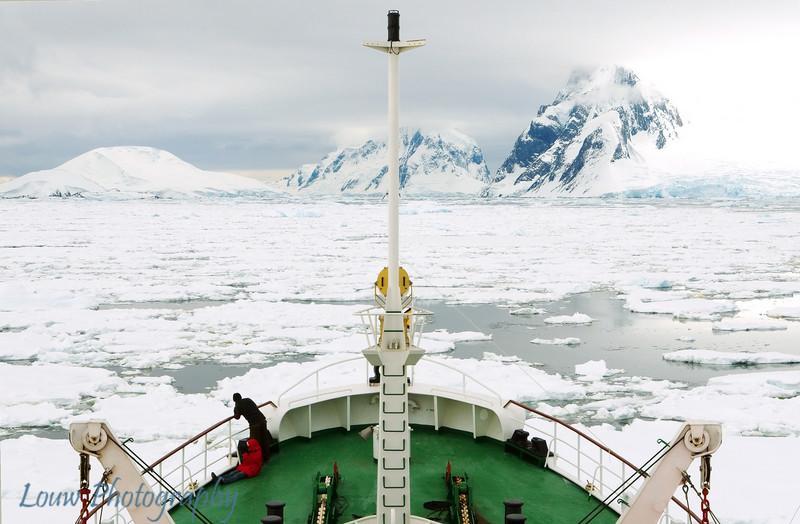 Open Pack Ice, 65°15' S, Antarctica