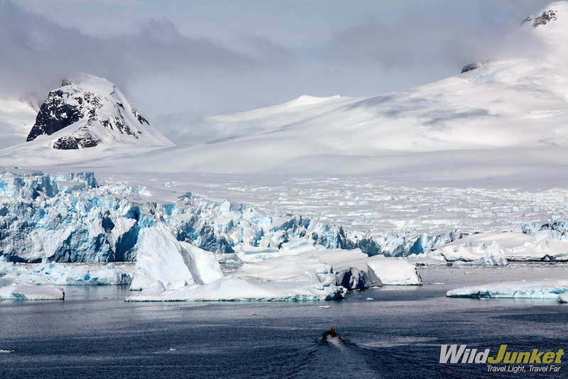 Antarctic continent from Lemaire Channel