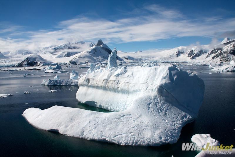 A giant iceberg