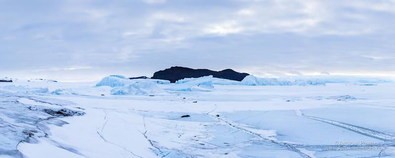 Ice Bergs Evans Pano